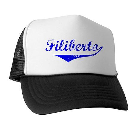 Filiberto Vintage (Blue) Trucker Hat