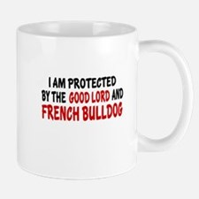 Protected By French bulldog Mug