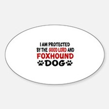 Protected By Foxhound Decal