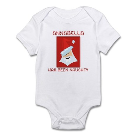 ANNABELLA has been naughty Infant Bodysuit