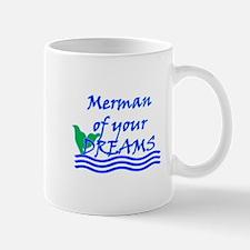 Merman Of Your Dreams (Blue) Mugs