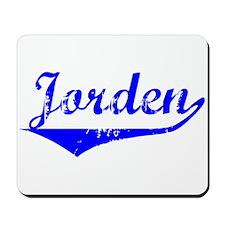 Jorden Vintage (Blue) Mousepad