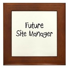 Future Site Manager Framed Tile