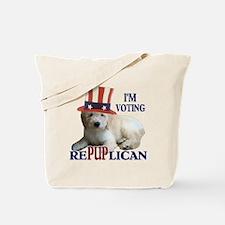 RePUPlican Goldendoodle Tote Bag