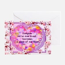 Pieces Of Our Hearts Greeting Card