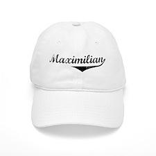Maximilian Vintage (Black) Baseball Cap