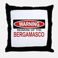BERGAMASCO Throw Pillow