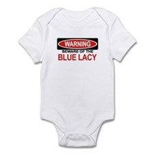 BLUE LACY Infant Bodysuit