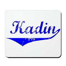 Kadin Vintage (Blue) Mousepad