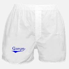Gavyn Vintage (Blue) Boxer Shorts