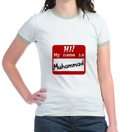 Named Muhammad Jr. Ringer T-Shirt
