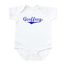 Geoffrey Vintage (Blue) Infant Bodysuit