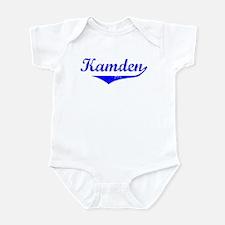Kamden Vintage (Blue) Infant Bodysuit