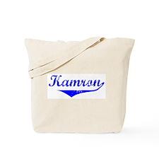 Kamron Vintage (Blue) Tote Bag