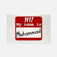 Named Muhammad Rectangle Magnet