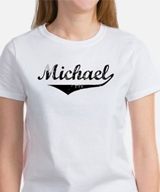 Michael Vintage (Black) Women's T-Shirt
