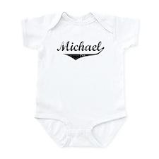 Michael Vintage (Black) Infant Bodysuit