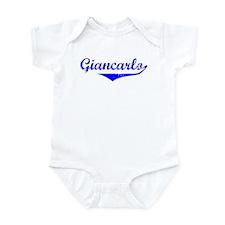 Giancarlo Vintage (Blue) Infant Bodysuit