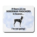 Doberman Pinscher Mousepad