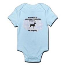Doberman Pinschers In Heaven Onesie