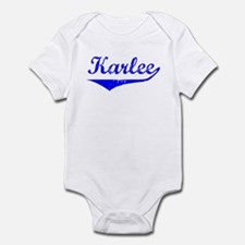 Karlee Vintage (Blue) Infant Bodysuit
