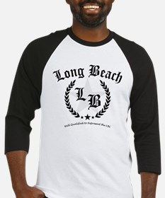 Long Beach Star Wreath Baseball Jersey