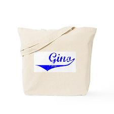 Gino Vintage (Blue) Tote Bag