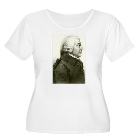 Adam Smith Women's Plus Size Scoop Neck T-Shirt