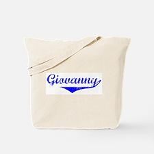 Giovanny Vintage (Blue) Tote Bag