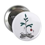 Blockhead Christmas Tree Button