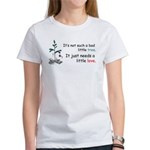 Blockhead Tree Women's T-Shirt