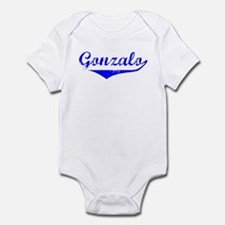 Gonzalo Vintage (Blue) Infant Bodysuit