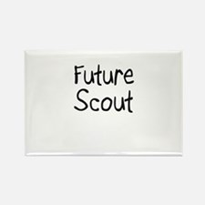 Future Scout Rectangle Magnet