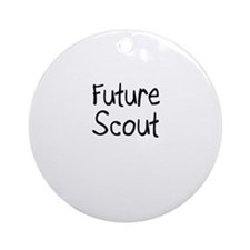 Future Scout Ornament (Round)