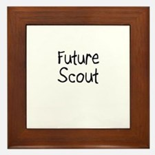 Future Scout Framed Tile