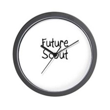 Future Scout Wall Clock