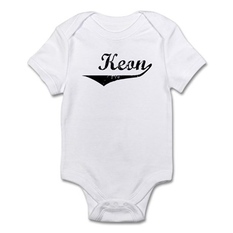 Keon Vintage (Black) Infant Bodysuit