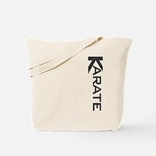 Karate Black Belt K Tote Bag