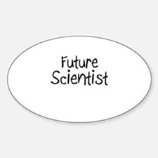 Future Scientist Oval Decal
