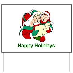 Holiday Slogan Yard Sign
