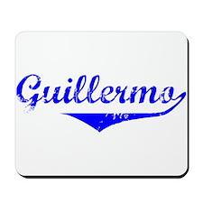 Guillermo Vintage (Blue) Mousepad