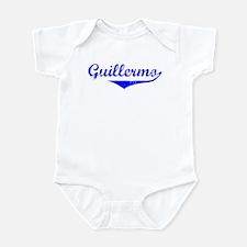 Guillermo Vintage (Blue) Infant Bodysuit