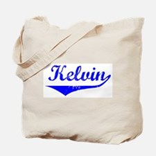 Kelvin Vintage (Blue) Tote Bag