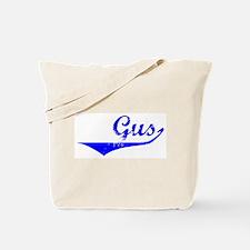 Gus Vintage (Blue) Tote Bag