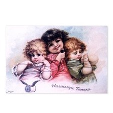 Victorian Thread Postcards (Package of 8)