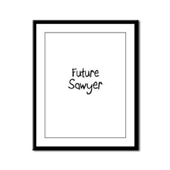 Future Sawyer Framed Panel Print