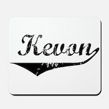 Kevon Vintage (Black) Mousepad