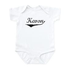 Kevon Vintage (Black) Infant Bodysuit