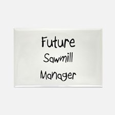 Future Sawmill Manager Rectangle Magnet