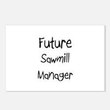 Future Sawmill Manager Postcards (Package of 8)